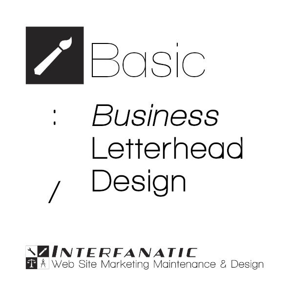 Interfanatic Basic Business Letterhead Design