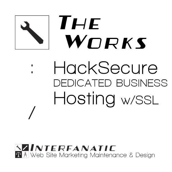Interfanatic The Works HackSecure Dedicated Business Hosting