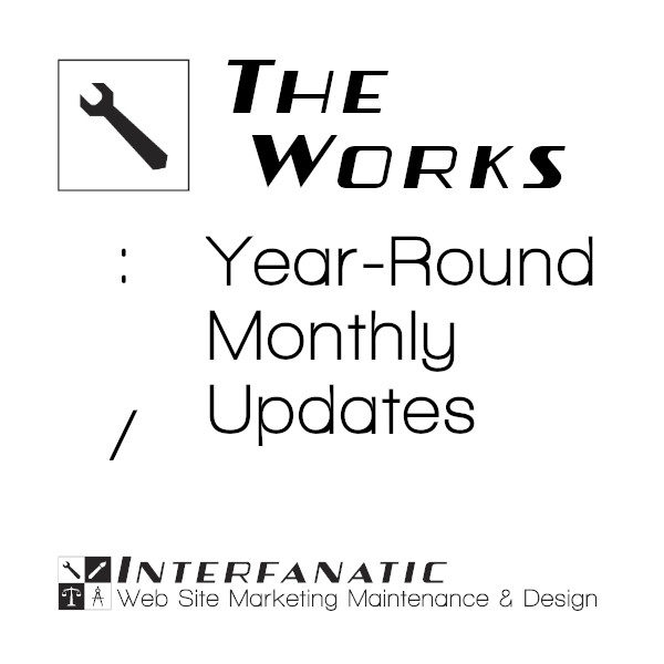 Interfanatic The Works Year-Round Monthly Updates