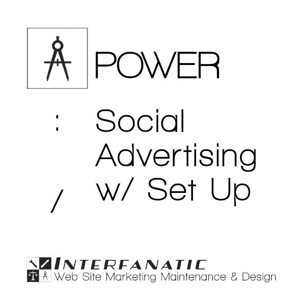 Interfanatic Power Social Advertising with Set Up