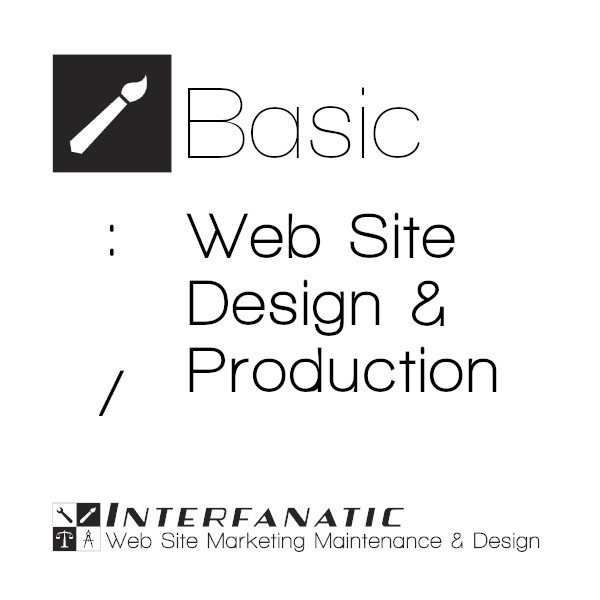 Interfanatic Basic Web Site Design Production Package