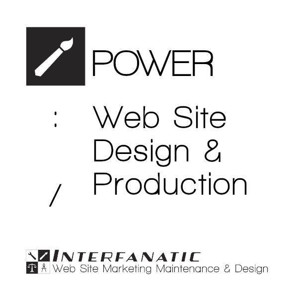 Interfanatic Power Web Site Design Production Package