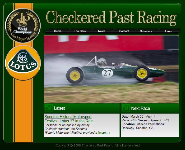 Checkered Past Racing's old website. It worked beautifully in the pre-mobile world.